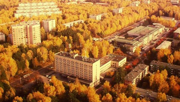 Академгородок Сибирского отделения РАН