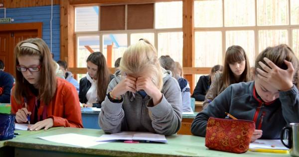 Во время ЛБО в Кировской Летней многопредметной школе