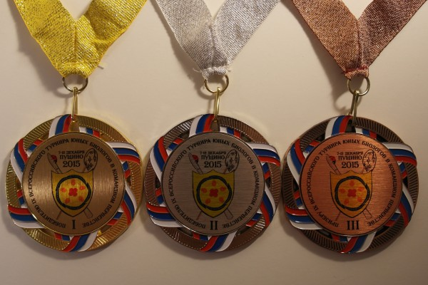 Медали командного первенства IX Всероссийского ТЮБ