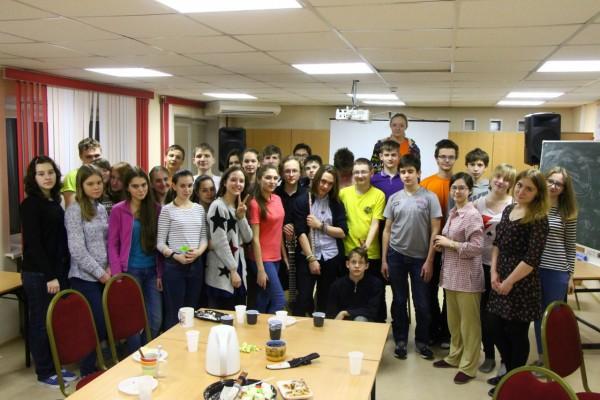 Участники учебно-тренировочных сборов в Кирове (ЦДООШ) 2016