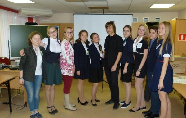 Команды-победители Кировского Турнира юных биологов 2016