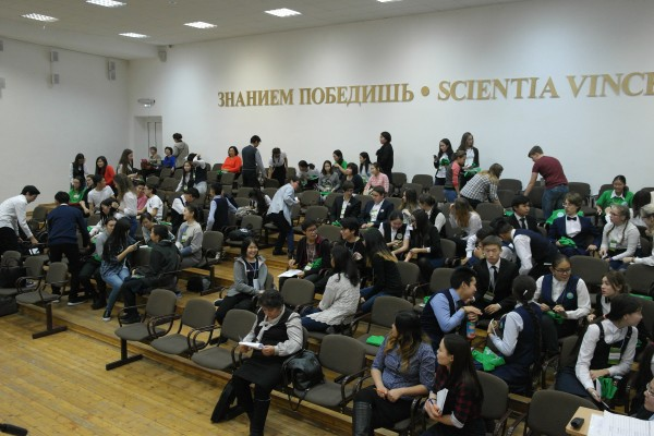 Команды во время жеребьевки на Турнире в Якутске