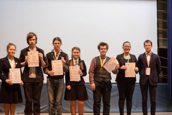 Лучшие игроки X Всероссийского Турнира юных биологов