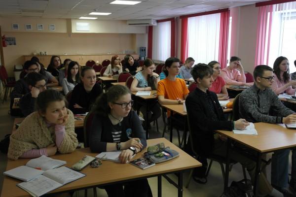 """На занятиях на УТС """"Современная биология"""" 2016"""