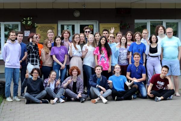 Ученики биологического отделения Кировской Летней многопредметной школы 2021