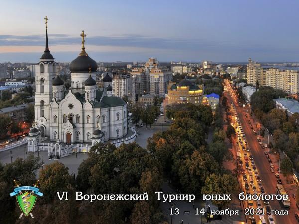 Постер Воронежского Турнира юных биологов 2021 года