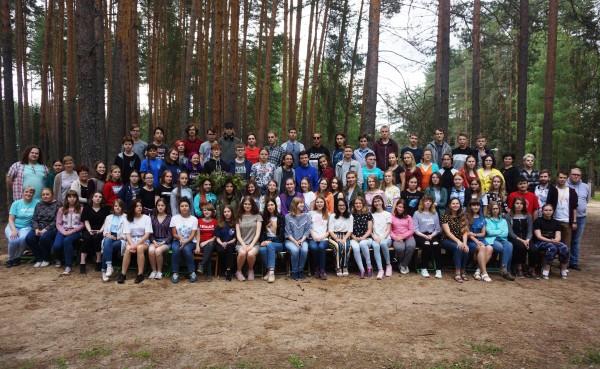 Ученики биологического отделения Кировской Летней многопредметной школы 2019